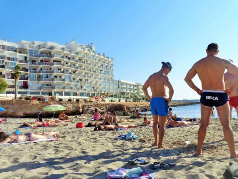 ibiza, santo antonio, islas baleares, playa, mar, mediterraneo