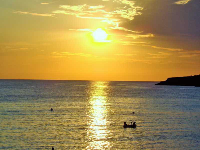 ibiza, santo antonio, atardecer, islas baleares, playa, mar, mediterraneo