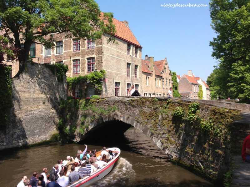 canales - puentes - brujas - brugge - belgica - europa - eurotrip - mochilero a europa