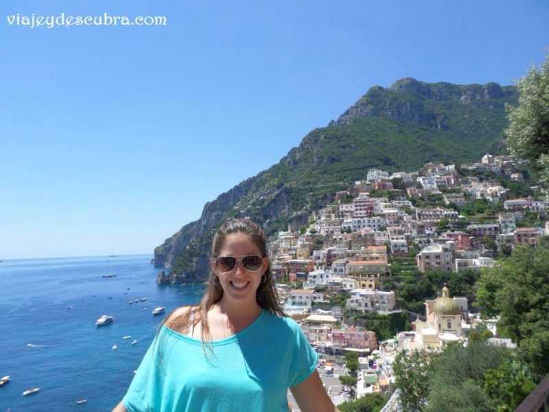Positano. Costa Amalfitana. Italia. Mochileros por Europa. Europa.