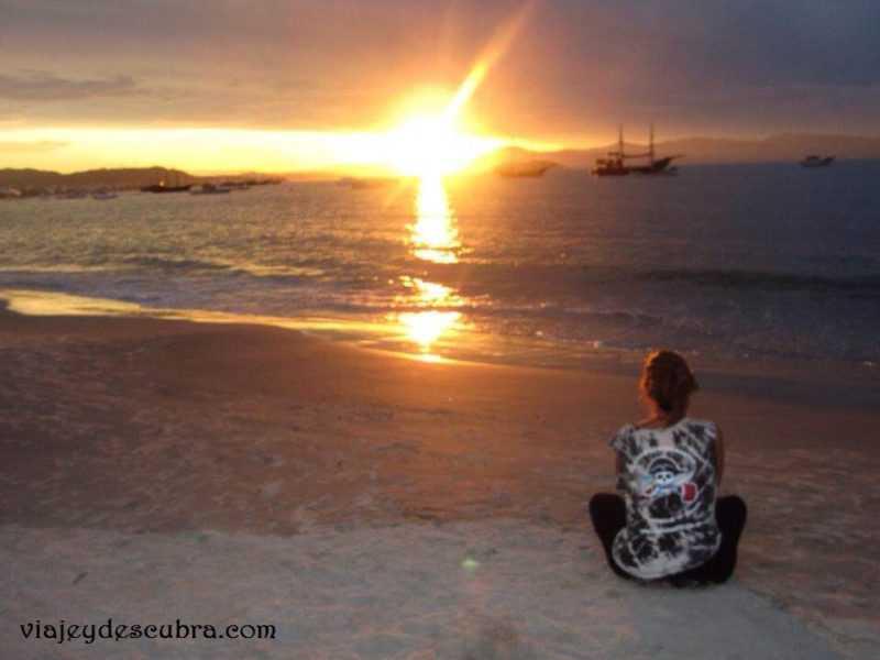 Florianopolis. Brasil. Mochileros. Viajar. Travel Blogger. Blog de Viajes. Paisaje. Amanecer.