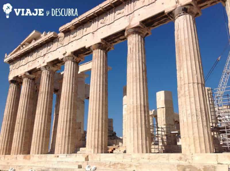 atenas, acropolis, arquitectura, partenon, europa, itinerario, dos dias en, imperdibles