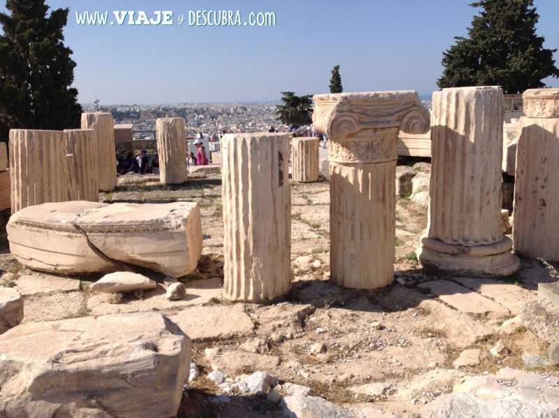 atenas, acropolis, teatro de Dioniso, arquitectura, partenon, europa, itinerario, dos dias en, imperdibles