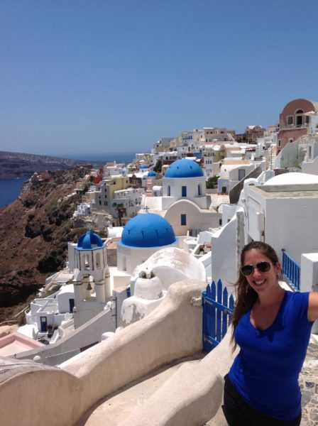 Oia. Santorini. Grecia. Islas. Paisajes únicos. Mochileros por Europa. Europa. Viajar. Travel Blogger. Blog de Viajes