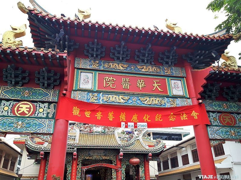 imperdibles-Bangkok,-Tailandia,-Asia,-barrio-chino,-china-town,-gate-of-china-town