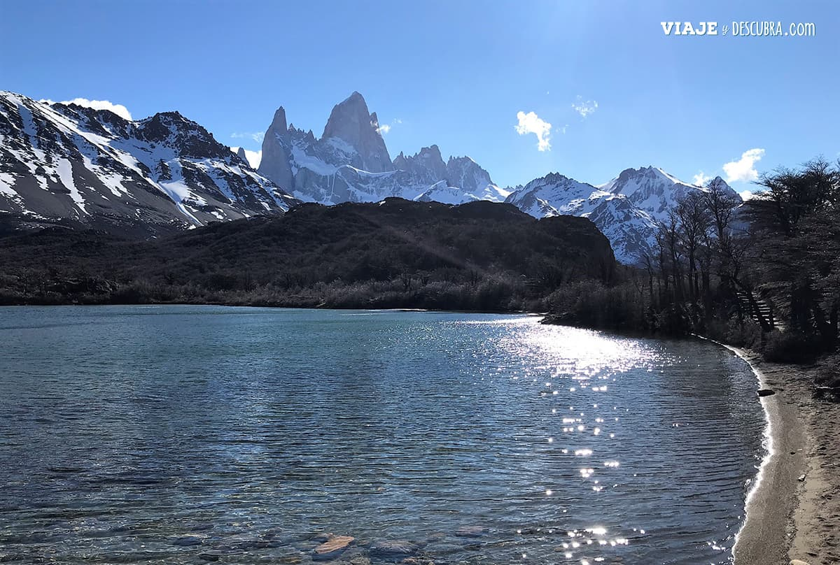 Laguna Capri, Fitz Roy, El Chaltén, Santa Cruz, Argentina