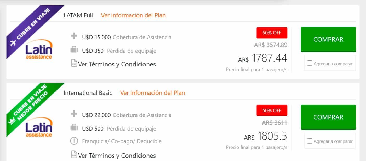 Latin Assistance seguro de viaje obligatorio Brasil