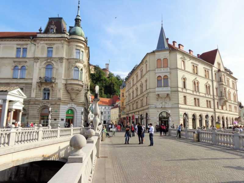 ljubljana, triple puente, eslovenia, imperdibles ljubljana, que ver en ljubljana, visit eslovenia, europa, europa con mochila, mochileros, mochileros por europa