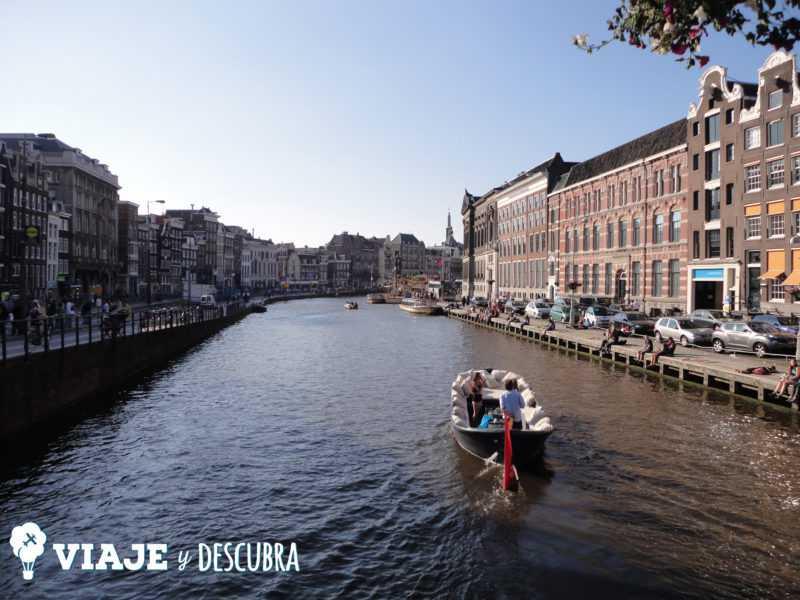amsterdam, imperdibles amsterdam, canales, puentes, bicifriendly, bicicleta, países bajos, holanda.