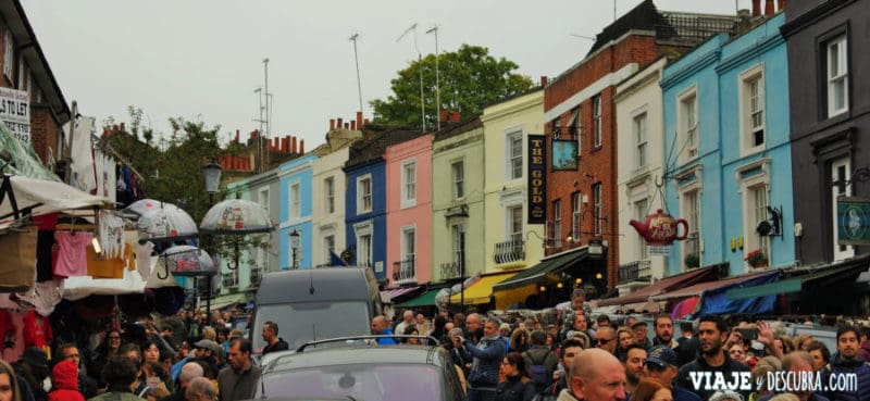 londres, london, imperdibles londres, inglaterra, UK, reino unido, europa, europa con mochila, notthing hill, portobelo road market