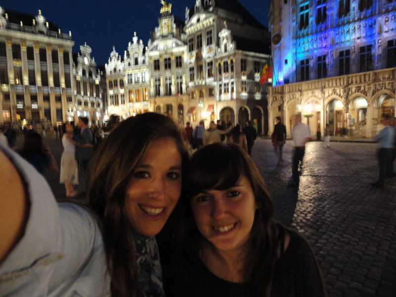 En nuestra amada Grand Place - Bruselas (Bélgica). Junio 2013