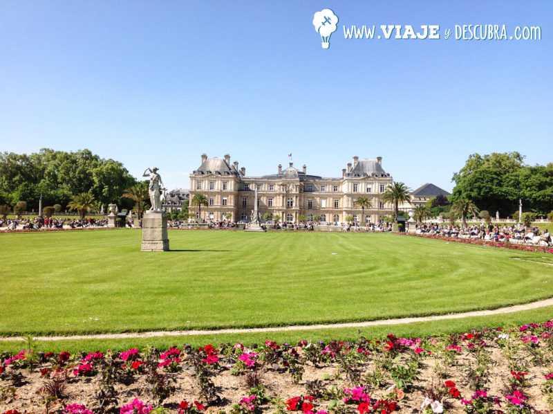 luxemburgo, parque, puente, grand palaice, palacio, paris, francia, tour, imperdibles, europa, mochilero a europa