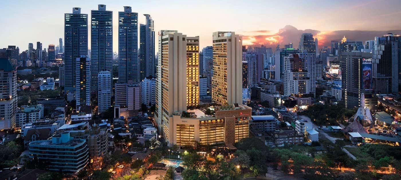 marriott-marquis-bangkok,-donde-dormir-en-bangkok,-tailandia,-asia,-hotel,-alojamiento