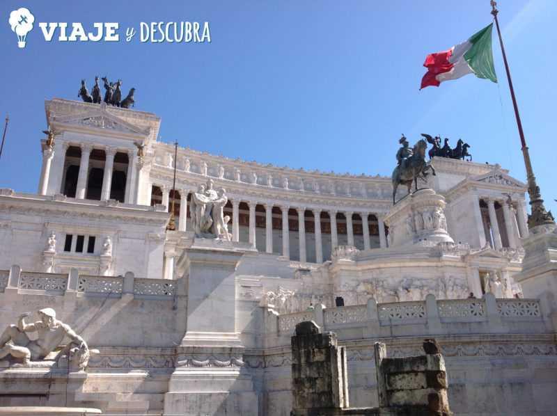 monumento vitor emanuel, roma, italia, imperdibles, que hacer en roma
