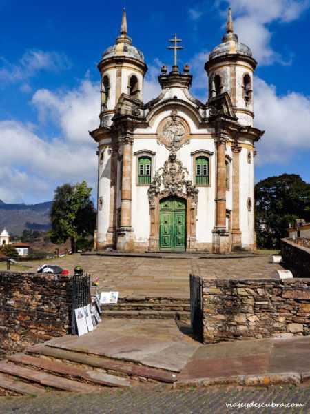 ouro preto minas gerais brasil iglesia san francisco de asis