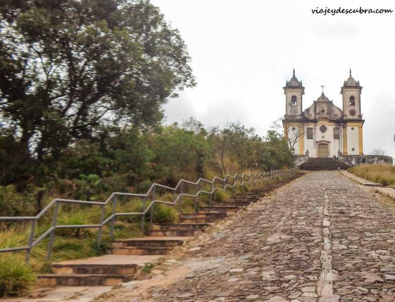 ouro preto minas gerais brasil iglesia san francisco de paula