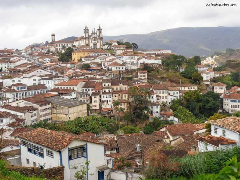 ouro preto minas gerais brasil paisaje mirador natural calles