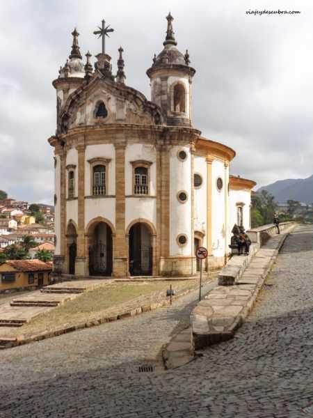 ouro preto minas gerais brasil iglesia Nossa Senhora do Rosario