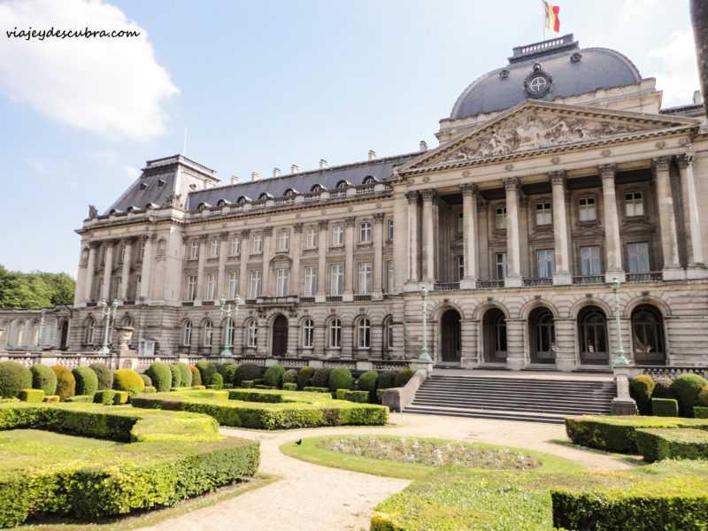 palacio real- Bruxelles - bruselas - belgica - europa - eurotrip - mochilero a europa