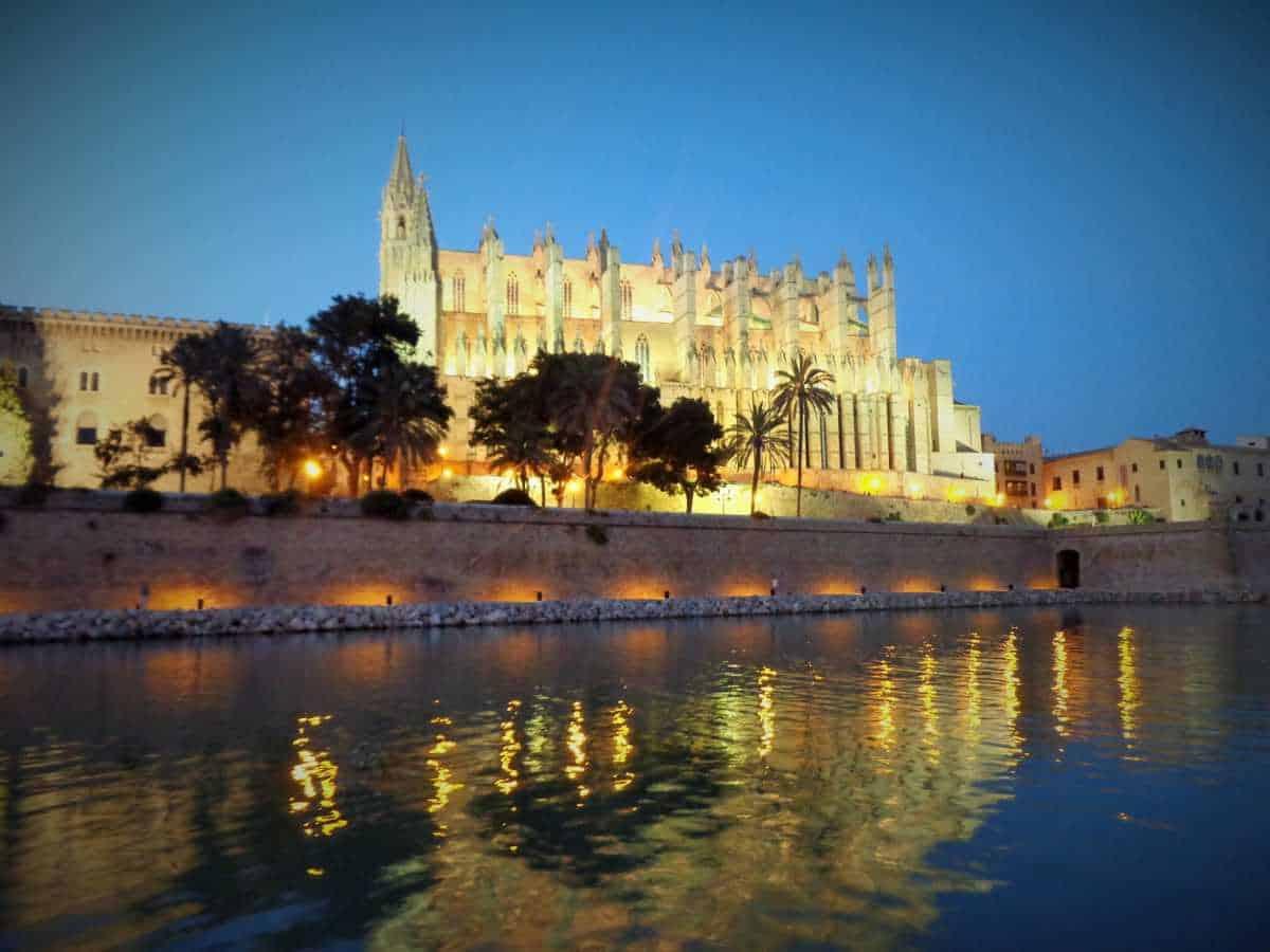 palma de mallorca, españa, catedral, viaje y descubra