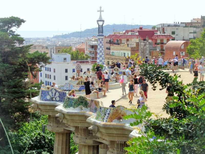 Gaudí, park güell, Barcelona, España, imperdibles barcelona, ruta gaudí