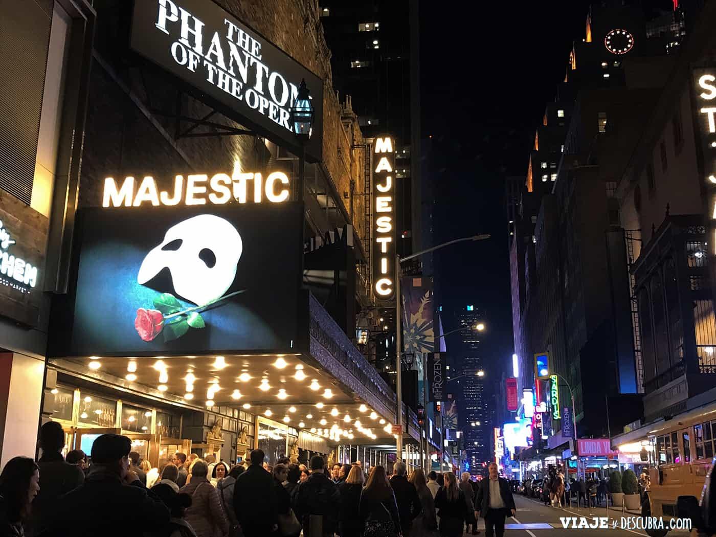 The Phantom of The Opera en Broadway