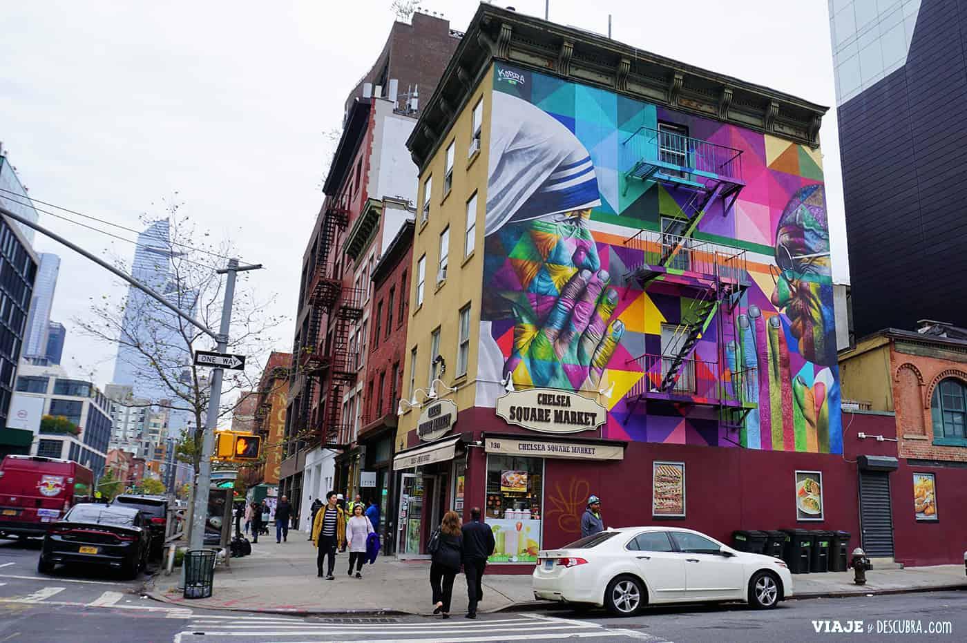 Kobra Street Art en Chelsea Market