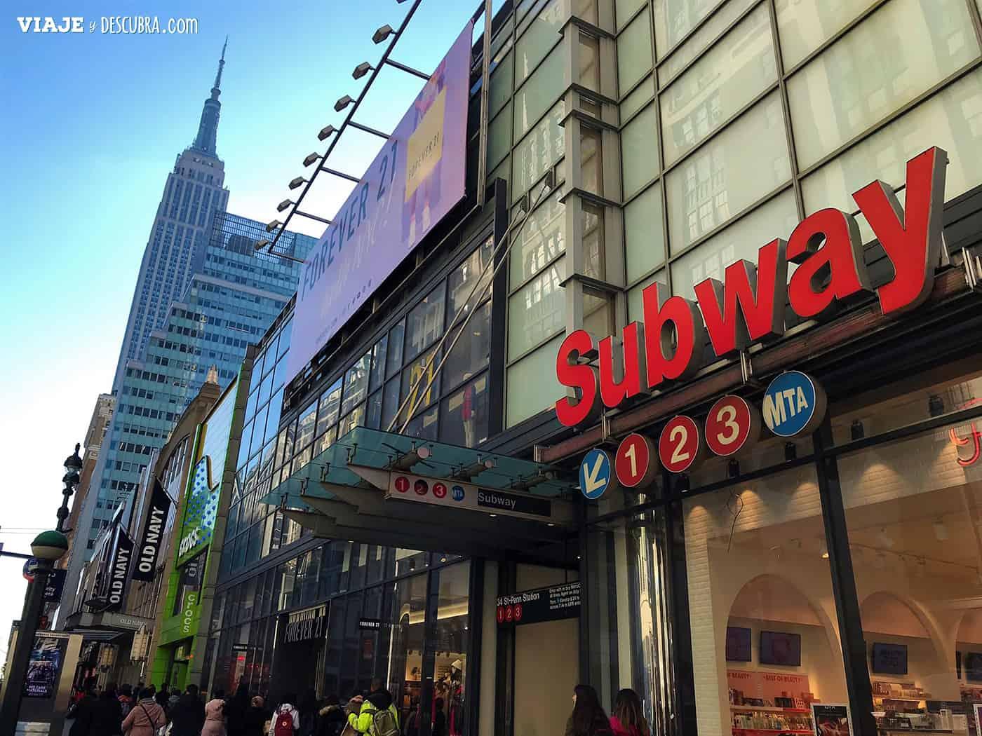Subway - Manhattan