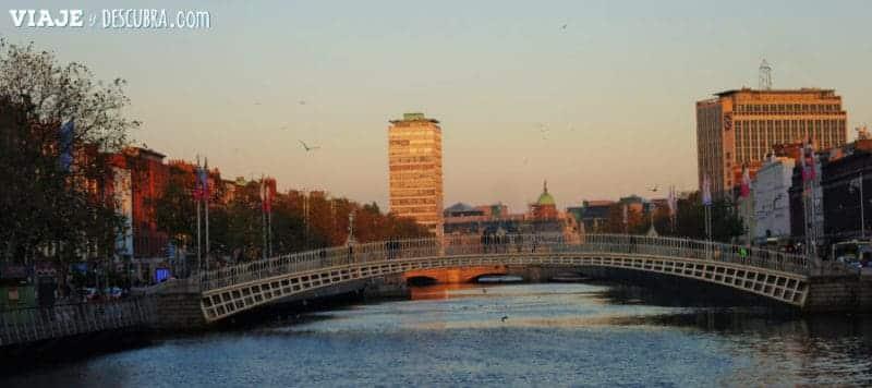 Ha'Penny Bridge, puente, dublin, irlanda, dos días en Dublin, qué ver en Dublin, imperdibles Dublin, mapa Dublin