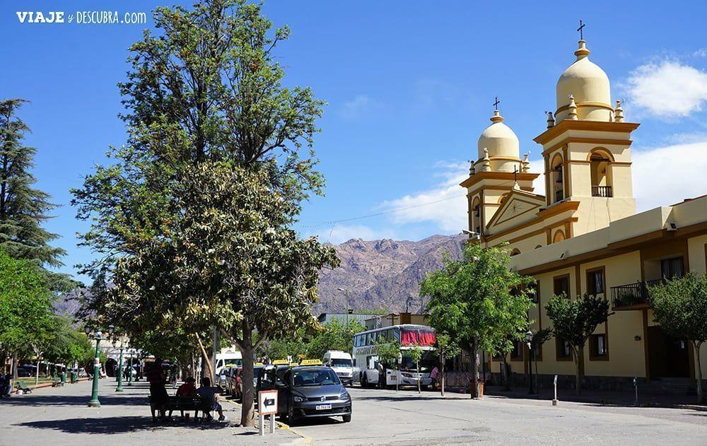 Cafayate, Salta, plaza principal