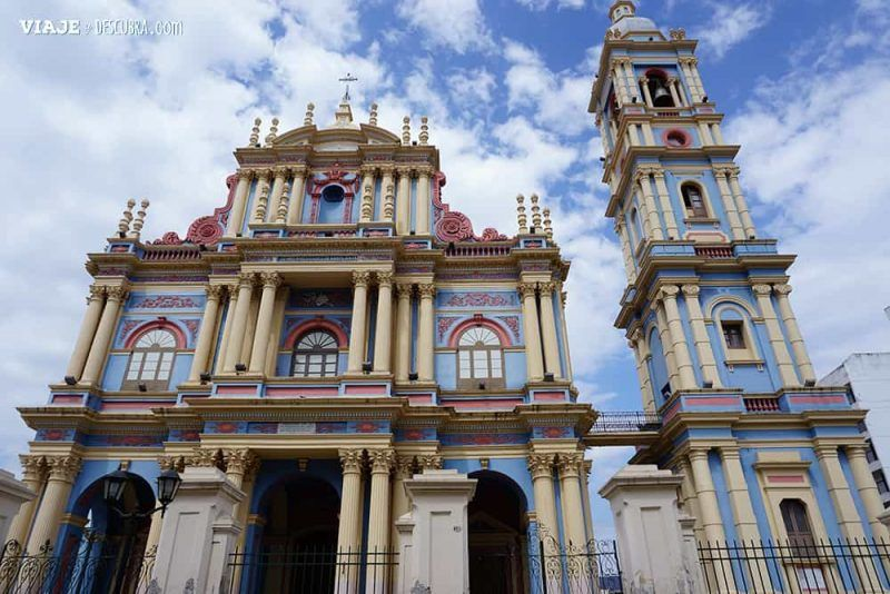 La Viña, iglesia, Salta