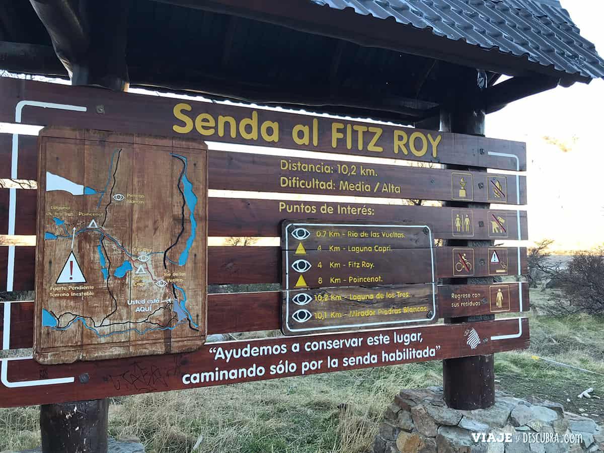 Senda Fitz Roy, El Chaltén, Capital Nacional del Trekking