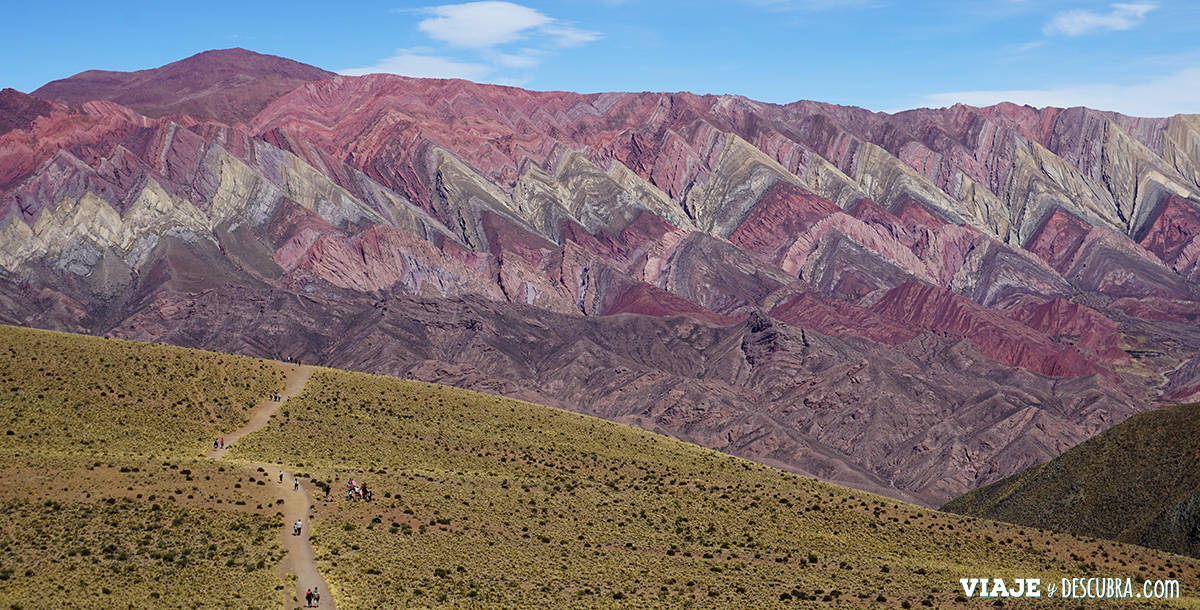 Hornocal, Serrania, Jujuy, Humahuaca