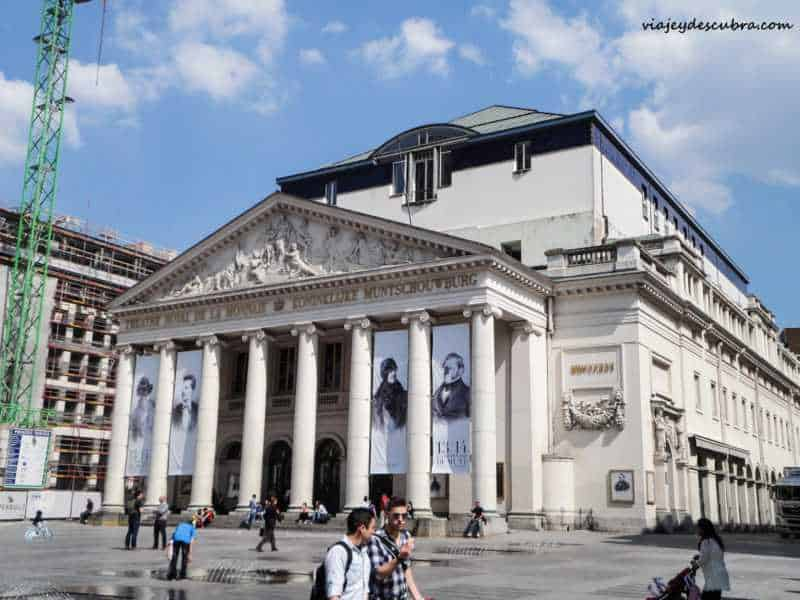 Teatro Real de la Moneda -Bruxelles - bruselas - belgica - europa - eurotrip - mochilero a europa