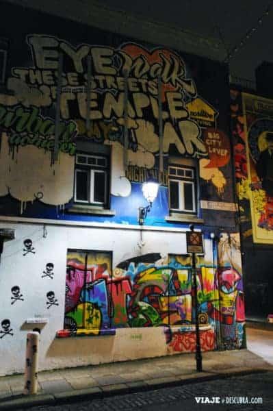 the temple bar, dublin, irlanda, dos días en Dublin, qué ver en Dublin, imperdibles Dublin, mapa Dublin