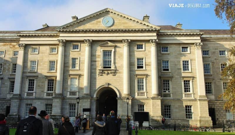 trinity college, dublin, irlanda, dos días en Dublin, qué ver en Dublin, imperdibles Dublin, mapa Dublin