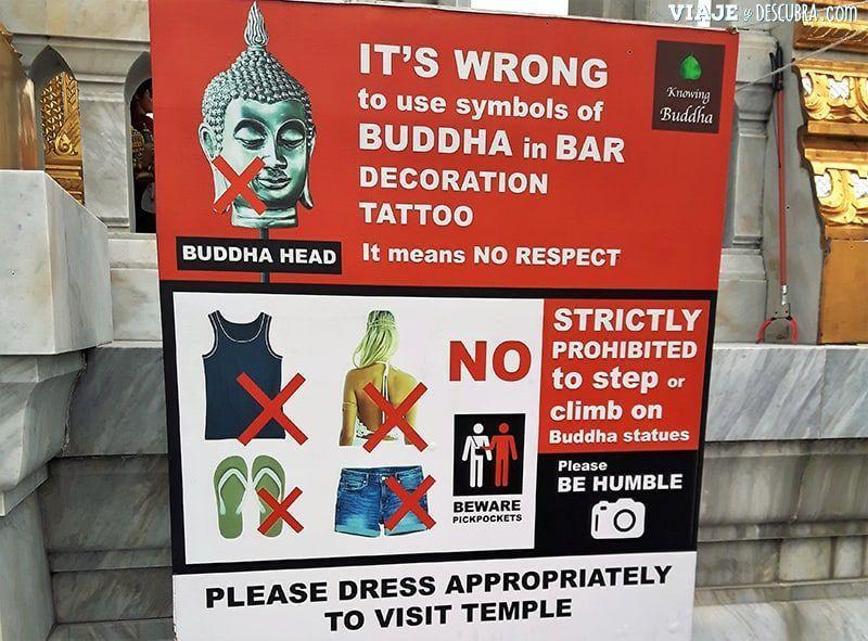 vestimenta-y-comportamiento,-templo-budista,-tailandia,-asia,-buda,-budismo