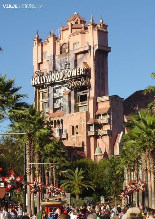 walt disney world, disney, vivir y trabajar en Disney, work and travel, USA, Estados Unidos, Hollywood Studios, tower of terror, el ascensor del terror