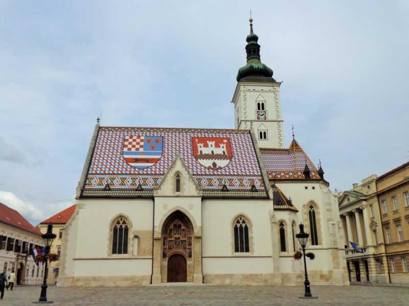 Zagreb, St Mark's Church, Zagreb, que ver en Zagreb, Zagreb en dos días, Croacia, Europa, mochileros en europa