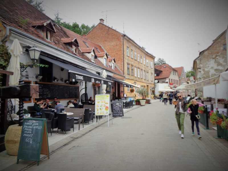 Zagreb, Tkalciceva, Bares, que ver en Zagreb, Zagreb en dos días, Croacia, Europa, mochileros en europa